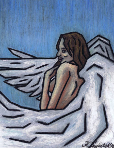 Wall Art - Painting - Angel by Kamil Swiatek