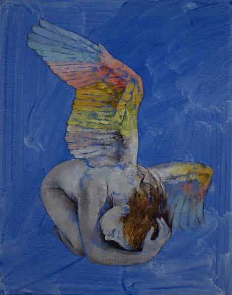 Frau Painting - Angel by Michael Creese