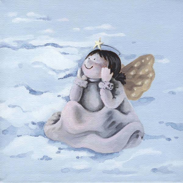 Wall Art - Painting - Angel by Natasha Denger