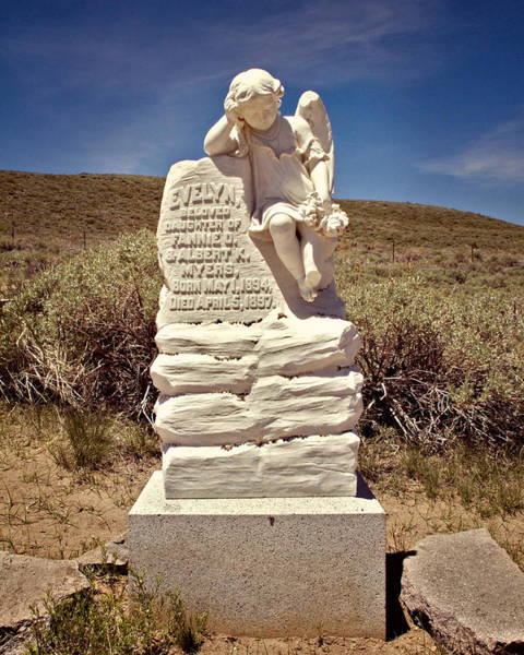 Bodie Ghost Town Wall Art - Photograph - Angel Of Bodie by Lana Trussell