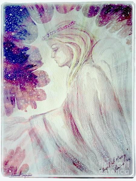 Angelic Beings Painting - Angel Of Mercy 2 by Leanne Seymour
