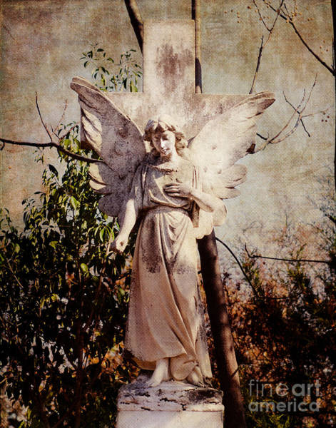 Guardian-angel Photograph - Angel Of Old by Sonja Quintero