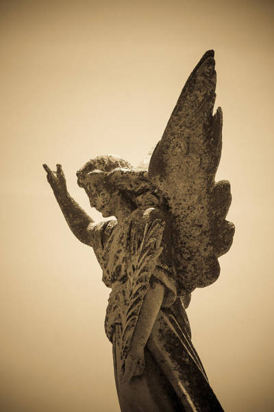 Angel Of Peace Photograph - Angel Of Peace by Steven Bateson
