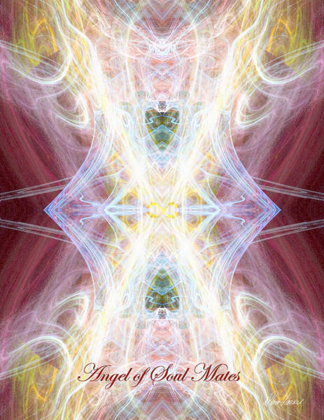 Digital Art - Angel Of Soul Mates by Diana Haronis