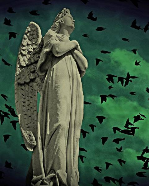 Angel Of Stone Art Print