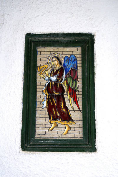 Photograph - Angel On Marbella Old Town Wall by Brenda Kean