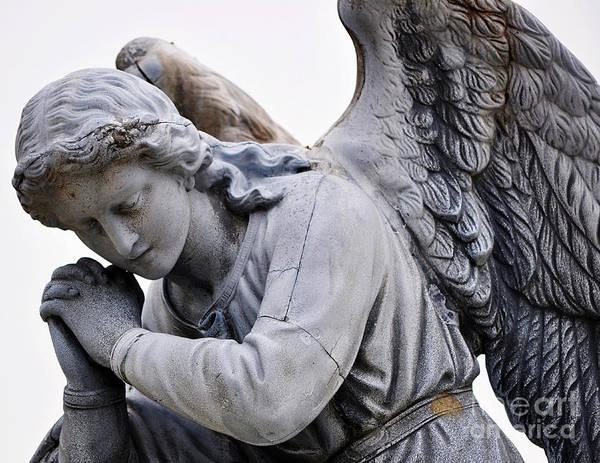 Photograph - Angel Praying 2 by Staci Bigelow