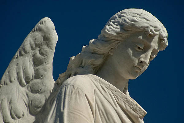 Cementery Photograph - Angel Statue by Pat Exum