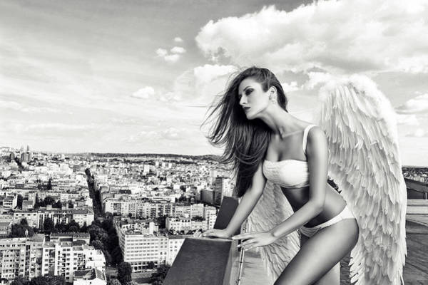 Imaginative Wall Art - Photograph - Angel by Stefan Amer