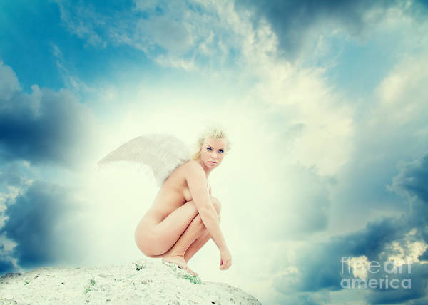 Wall Art - Photograph - Angel by Stelios Kleanthous