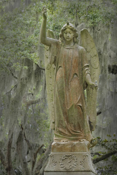 Photograph - Angel With Sword And Star by Bradford Martin