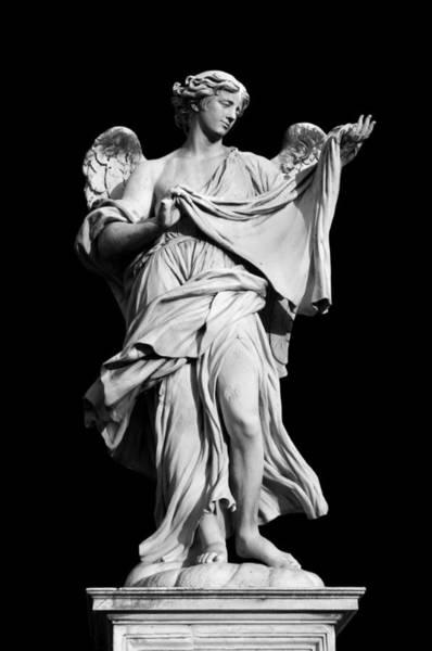 Veronica Photograph - Angel With The Sudarium  by Fabrizio Troiani