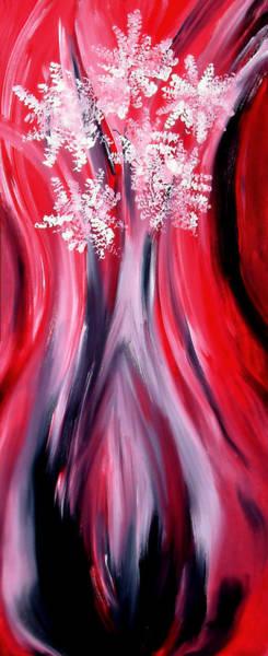 Painting - Angela's Flowers by Cyryn Fyrcyd