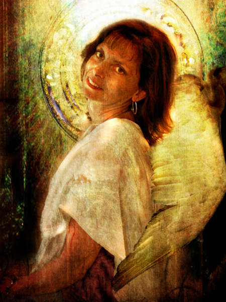Digital Art - Angelic Repose  by Nada Meeks