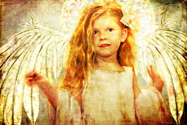Photograph - Angelic Wonder by Nada Meeks