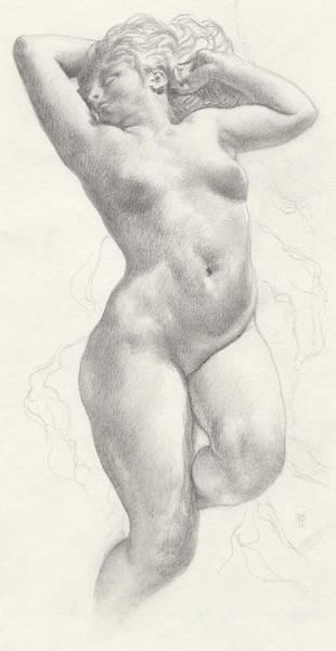 Drawing - Angelica by Scott Kirkman