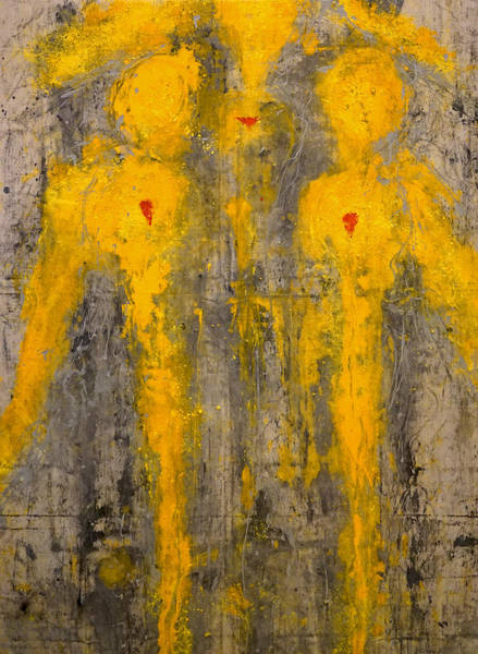 Painting - Angels I Have Seen by Giorgio Tuscani