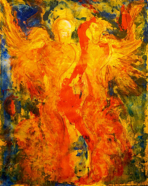 Painting - Angels Of Passion by Giorgio Tuscani