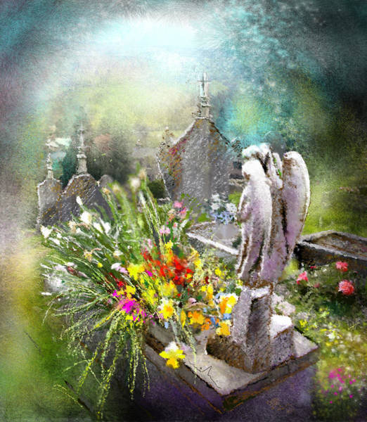 Painting - Angels Of Stone by Miki De Goodaboom