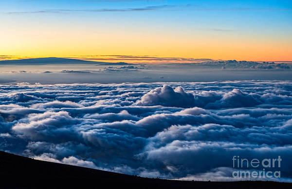 Elevation Photograph - Angels View - Summit Of Haleakala Volcano In Maui by Jamie Pham