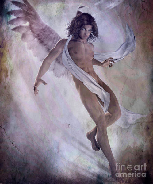 Wall Art - Painting - Angelus by Shanina Conway