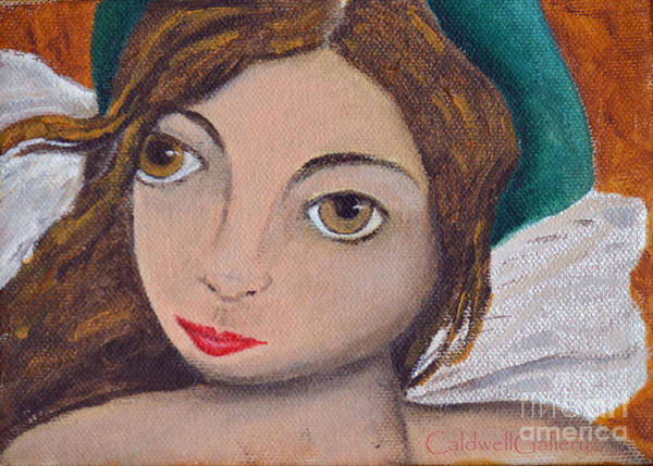 Wall Art - Painting - Angie by Patricia Caldwell