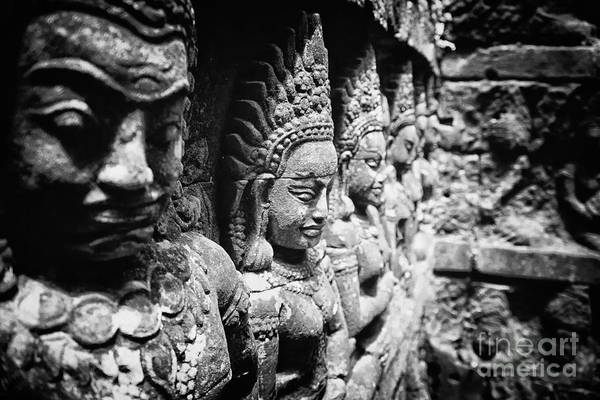 Photograph - Angkor Beautiful Apsaras by Kate McKenna