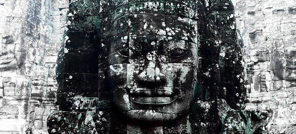 Angkor Wall Art - Photograph - Angkor Thom by Julian Cook