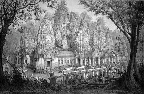 Indochina Photograph - Angkor Wat by Cci Archives