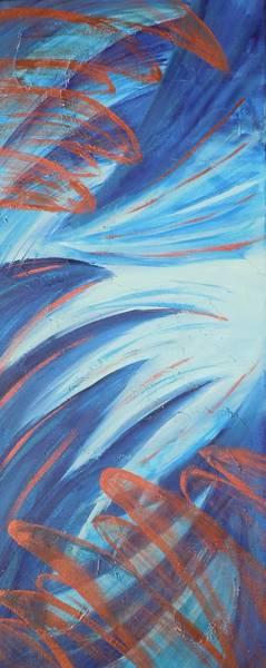 Painting - Angle Wings by Deborah Brown Maher