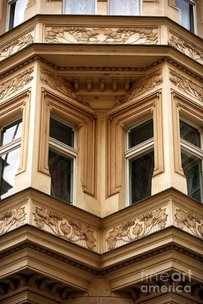 Photograph - Angled Windows by John Rizzuto