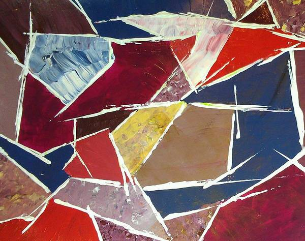 My Son Painting - Angles 2314 by Sonya Wilson
