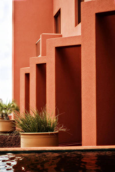 Photograph - Angles On The Patio by Melinda Ledsome