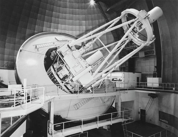 Ir Photograph - Anglo-australian Telescope by Royal Astronomical Society/science Photo Library