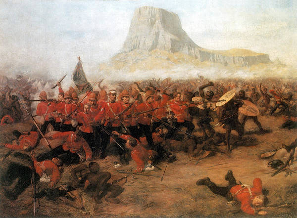 Wall Art - Photograph - Anglo-zulu War, Battle Of Isandlwana by Science Source