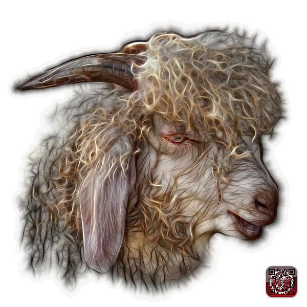 Digital Art - Angora Goat - 0073 Fs by James Ahn