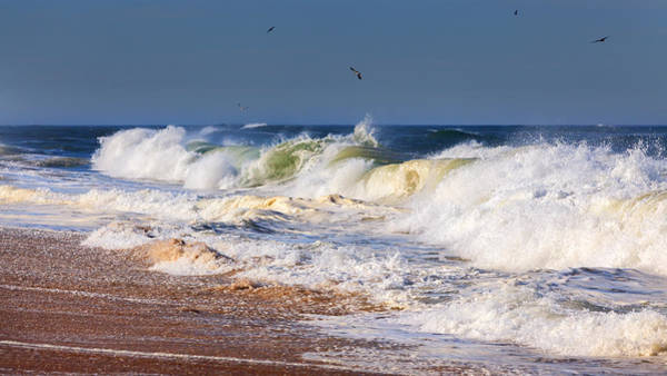 Photograph - Angry Sea by Bill Wakeley