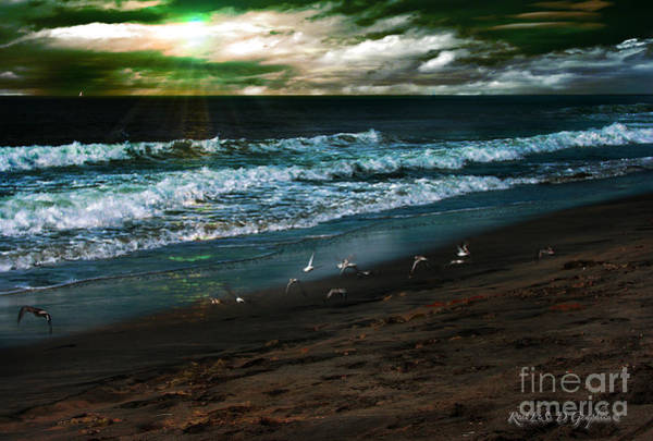 Digital Art - Angry Skies by Rhonda Strickland
