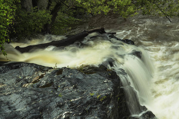 Photograph - Angry Whetstone Brook II by Tom Singleton