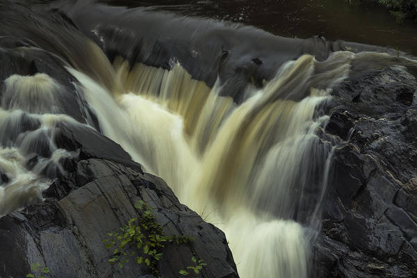 Photograph - Angry Whetstone Brook by Tom Singleton