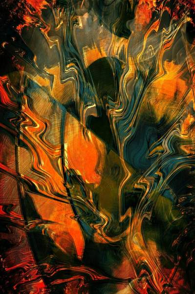 Digital Art - Angst by Amanda Moore