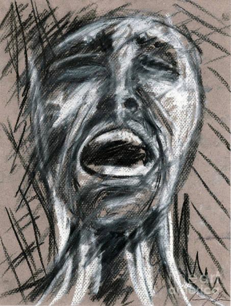 Anguish Art Print by Jessica Sturges