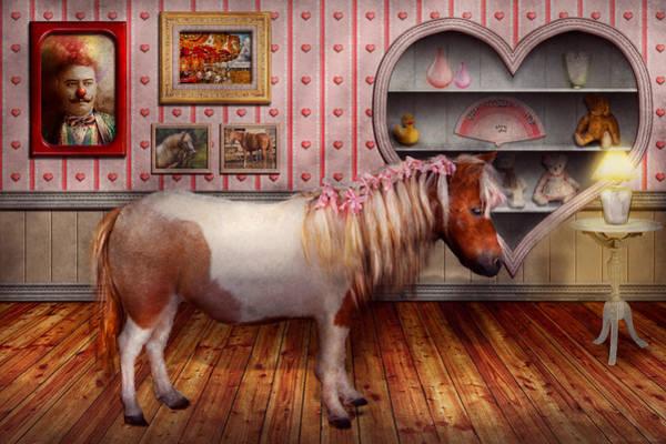 Wall Art - Photograph - Animal - The Pony by Mike Savad