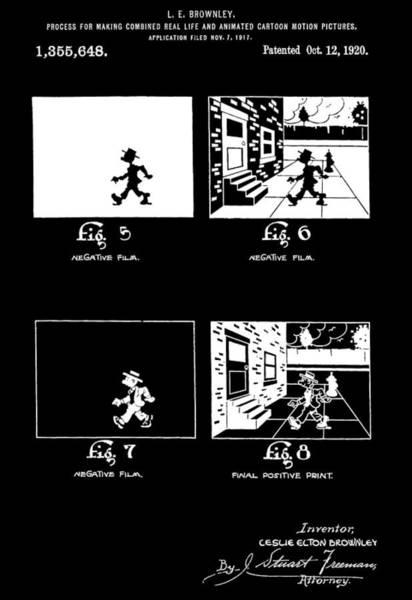 Wall Art - Photograph - Animator Patent by Dan Sproul