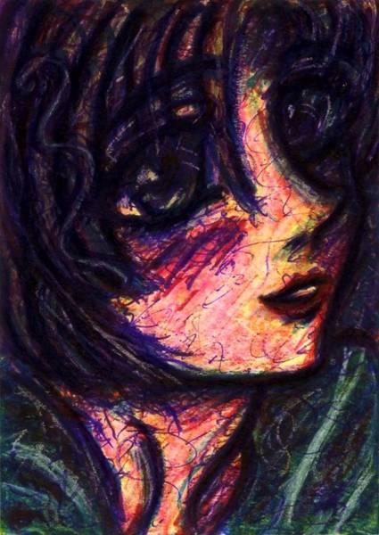 Drawing - Anime Girl by Rachel Scott