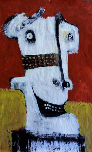 Outsider Wall Art - Painting - Animus No 6 by Mark M  Mellon