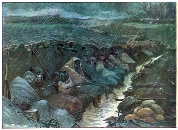 Miserable Drawing - Ankle-deep In Water Which Is  Added by Mary Evans Picture Library