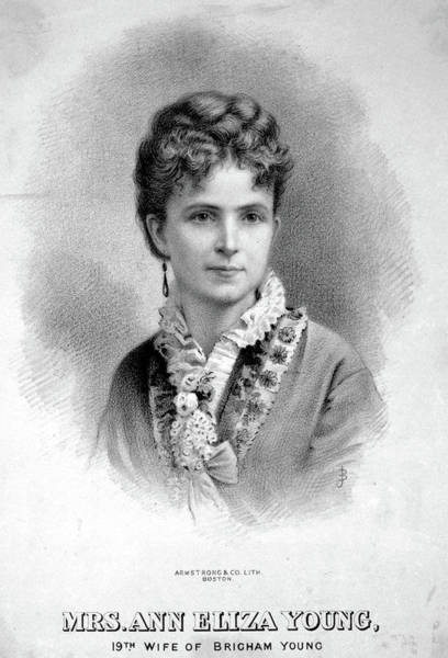 Painting - Ann Eliza Young (1844-1925) by Granger