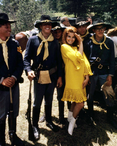 Stagecoach Photograph - Ann-margret In Stagecoach  by Silver Screen
