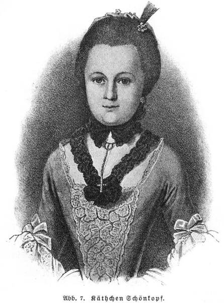 Wall Art - Drawing - Anna Katharina (kaetchen)  Schoenkopf by Mary Evans Picture Library